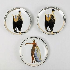 House of Erte Franklin Mint collectible plates, 3